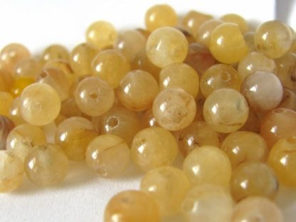 Jadeit korálky kuličky 6 mm