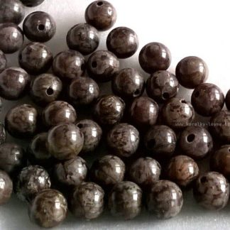 Jaspis korálky kuličky 6mm