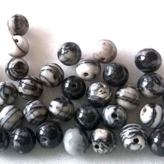 Korálky kuličky Jaspis 6mm