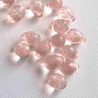 Korálky skleněné mačkané 5 x 7 mm