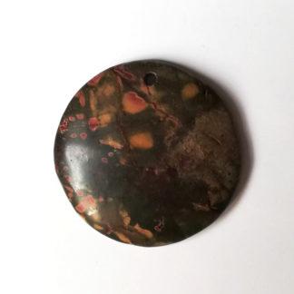 Přívěsek Jaspis 39 x 38 mm