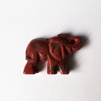 Přívěsek Jaspis Slon 37 mm