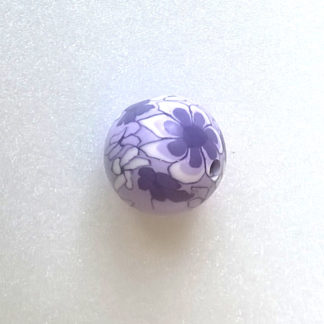 Korálky FIMO 20 mm Květina X