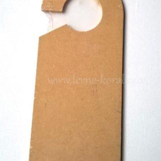 Scrapbooking visačka na kliku 8 x 20 x 0,4 cm