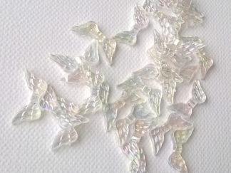 Korálky Křidélka plast NEON