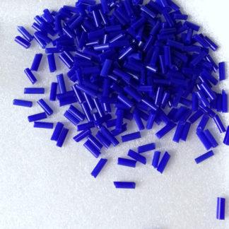 Korálky Rokajl tyčky 7 mm modrý