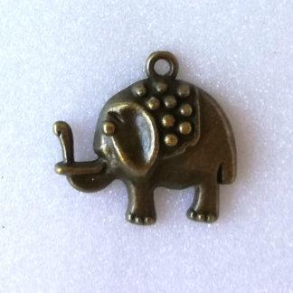 přívěsek staromosaz slon