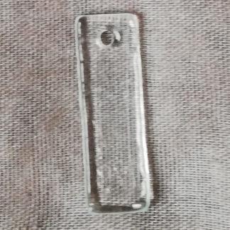 Přívěsek sklo 41 x 11 mm