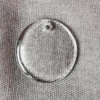 Přívěsek sklo 26 mm